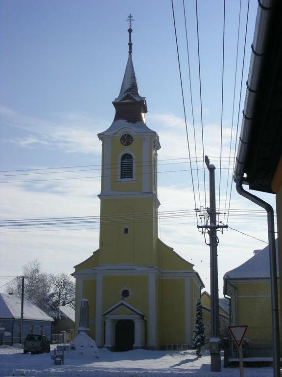 Templom téli homlokzata 2 - big