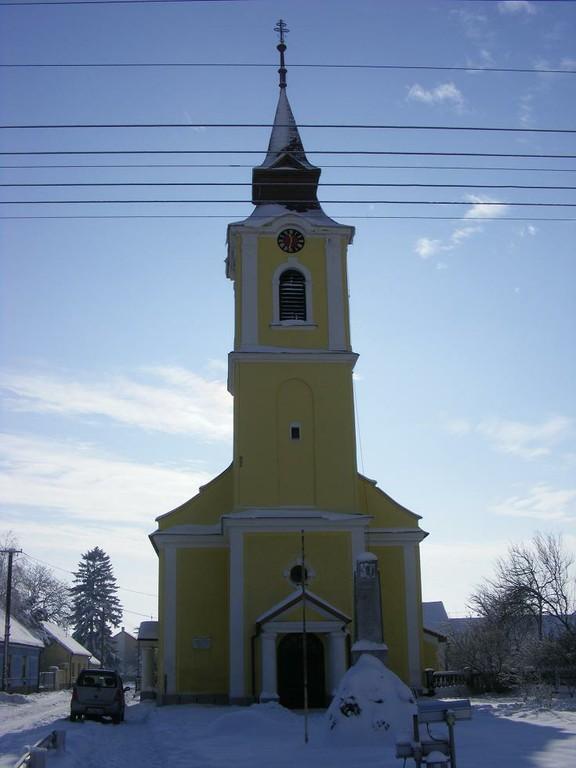 Templom téli homlokzat - big