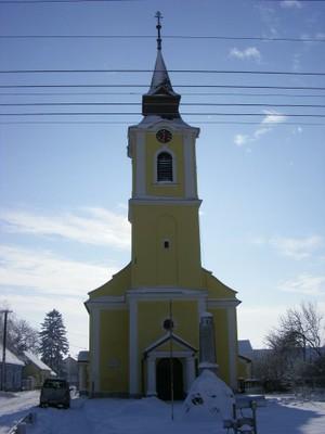 Templom téli homlokzat - small